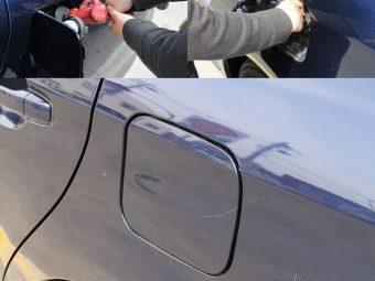 【金教トピックス】  車に給油するガソリンの種類に注意