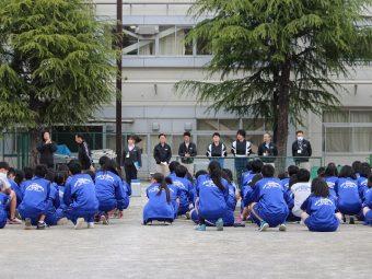 【交通安全教室】葛飾総合高校で交通安全教室を行いました