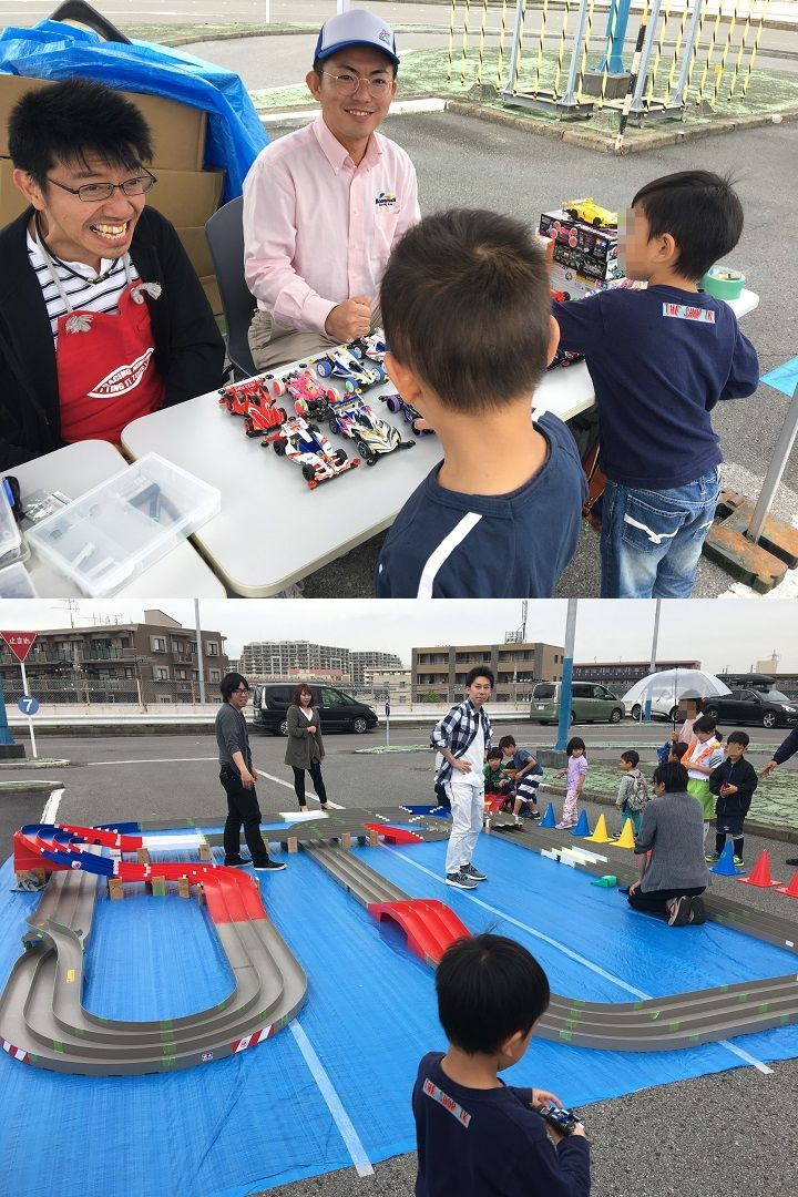 葛飾区にある金町自動車教習所で行われたイベント