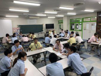 9月23日 社員研修 STEP meeting