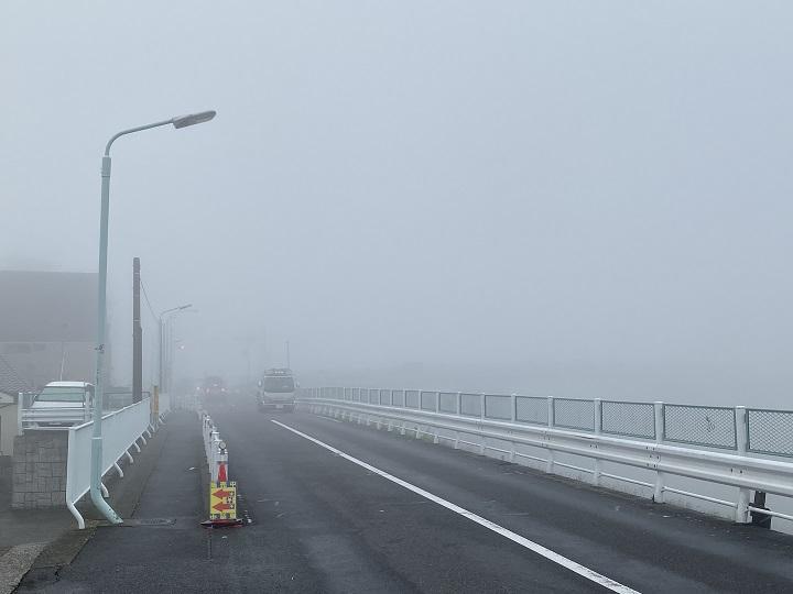 葛飾区にある金町自動車教習所のブログ「濃霧」