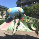 ウワサの巨大タコとゾウさんが闘う公園  【堀切東公園】