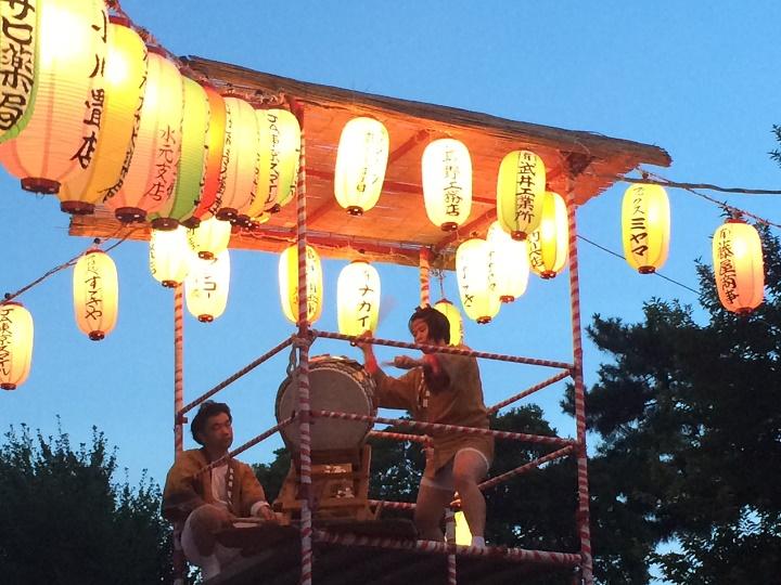 盆踊りの櫓