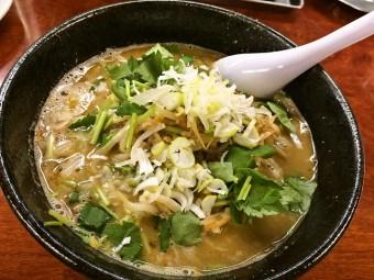 亀有Dの食卓【限定麺】  寒い冬は「鶏コク味噌」で温まれ
