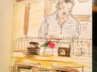 今日のご近所カフェ8  コーヒー店 ラッキー 亀有2号店
