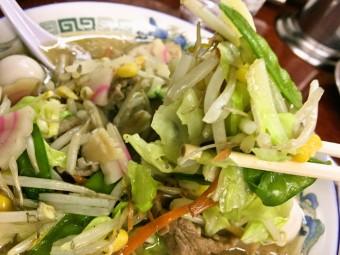 【限定】亀有どさん子   「五目旨煮塩ソバ」で野菜不足も解消