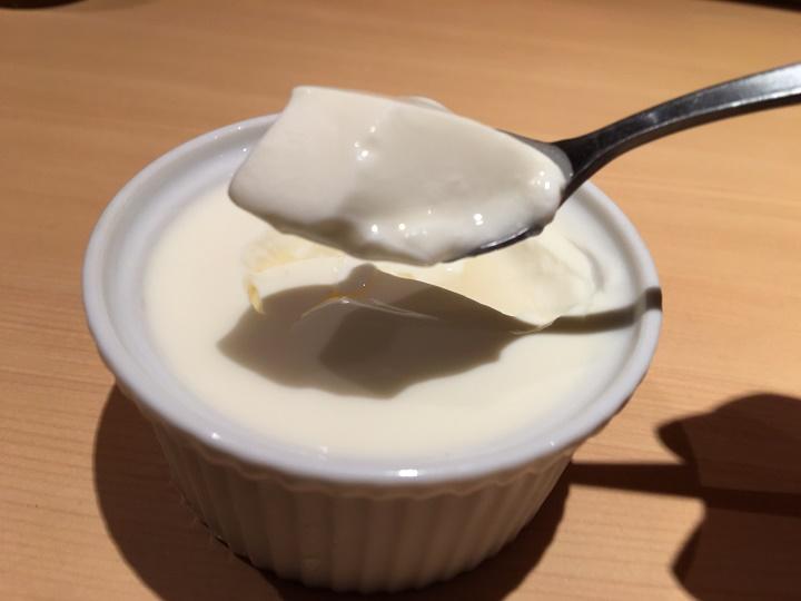 つけ麺 道(道の塩)の杏仁豆腐