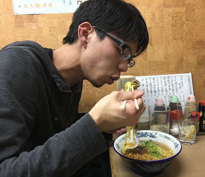 亀有どさん子の限定麺