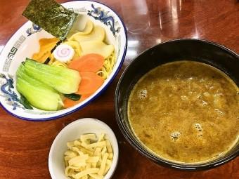 【限定】亀有どさん子 「カレーつけ麺」  隠し味の甘くて白い秘密
