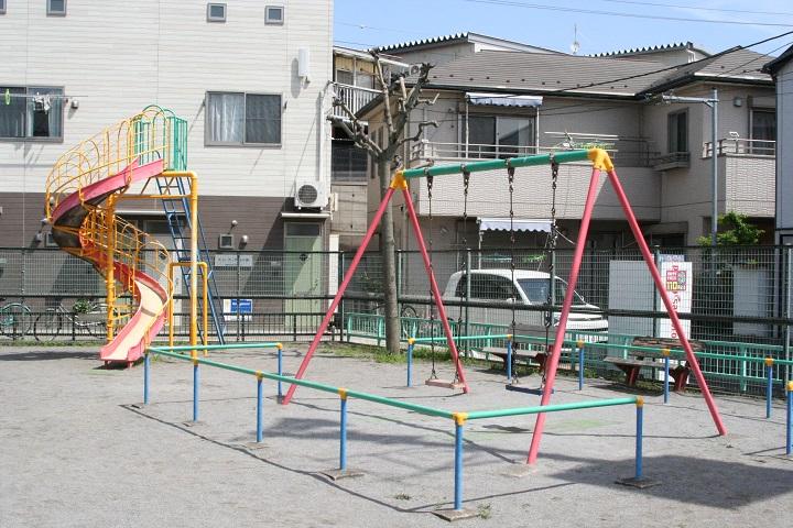 葛飾区内の公園施設「古谷野児童遊園」