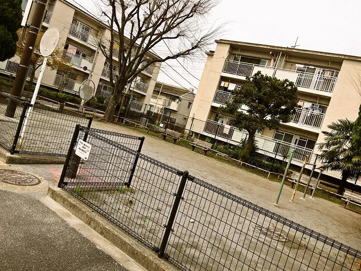 葛飾区内の公園施設「都営鎌倉一丁目住宅広場」