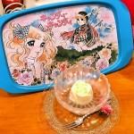 柴又の昭和レトロ喫茶セピアで  キャンディ・キャンディ特別展