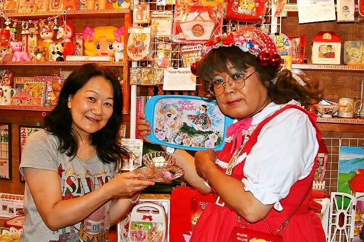柴又の昭和レトロ喫茶セピア「キャンディ・キャンディ特別展」