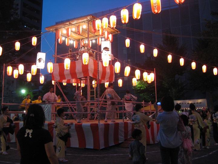 葛飾区内の盆踊り