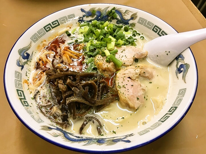 亀有どさん子の限定麺「鶏白湯」