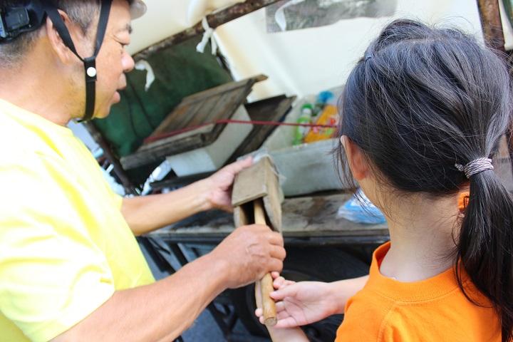 葛飾区青戸にある若林豆腐店の移動販売