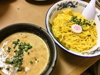 【限定】亀有どさん子  2017年の麺はじめは 「黒つけ麺」 から!