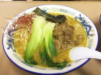 【限定】亀有どさん子 「牛スジ和風カレー麺」  10月のカレーを知る者、コレ食べるべし!!