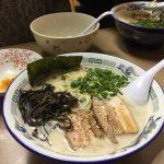【限定】亀有どさん子「豚とリンゴの豚骨麺」  博多豚骨麺に目がないヤツ、これが亀有の味だ!