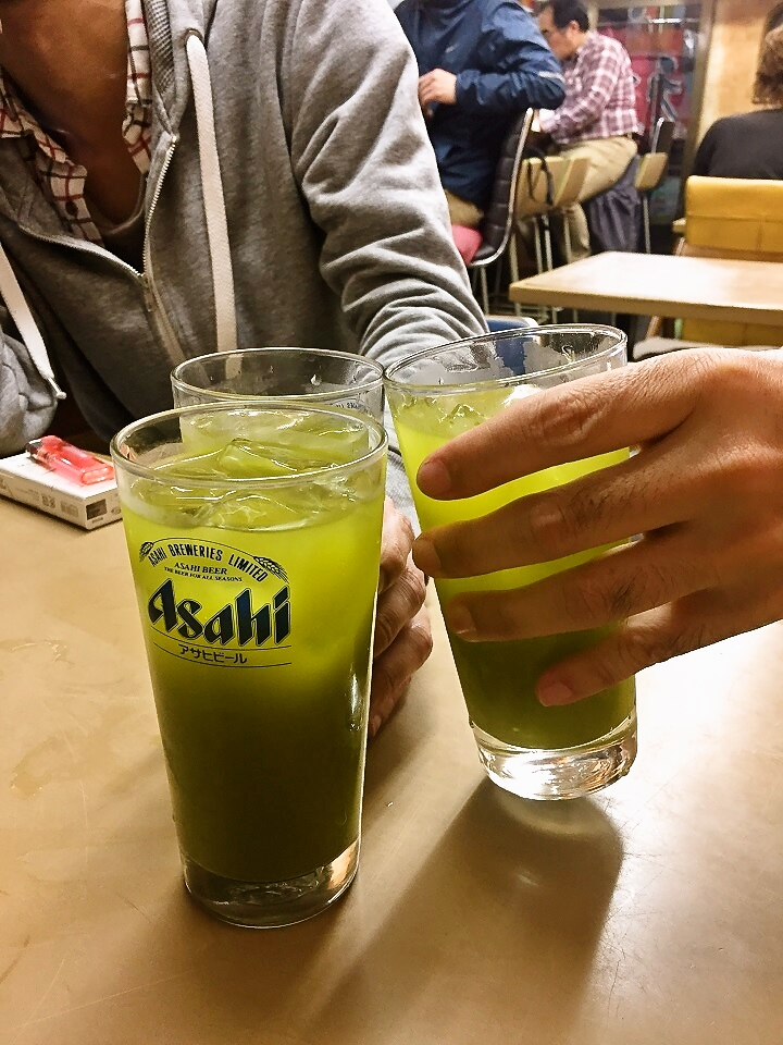 亀有どさん子の緑茶