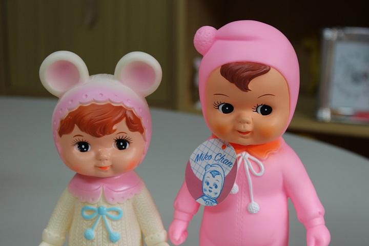 葛飾の立石にある児玉産業(児玉産業TOY)のチャーミーちゃんとミコちゃん
