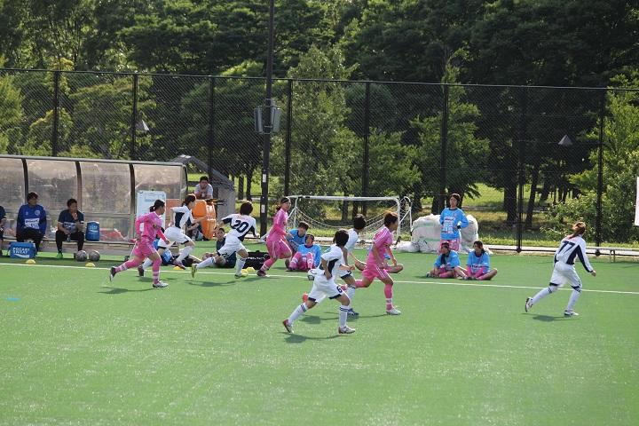 葛飾のサッカーチーム、南葛SC Wingsの試合