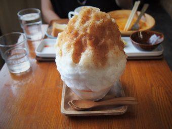 自家製シロップの大人過ぎるかき氷!  奥戸のダイニングカフェ「ゼロ屋」