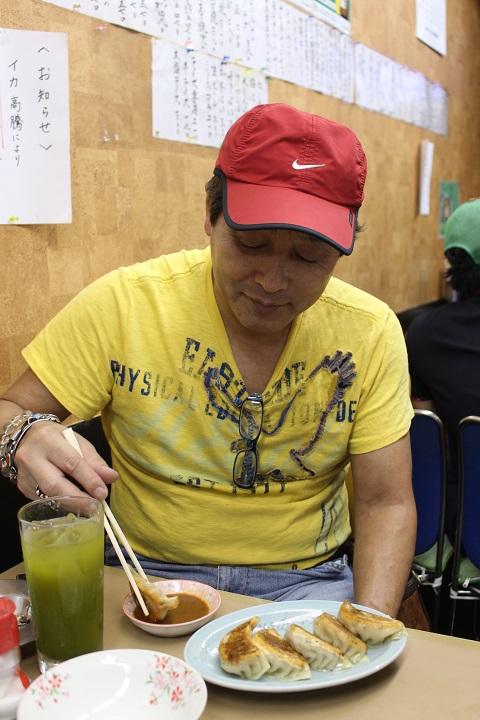 亀有どさん子の一押し麺(限定麺)、平松伸二コラボの外道麺