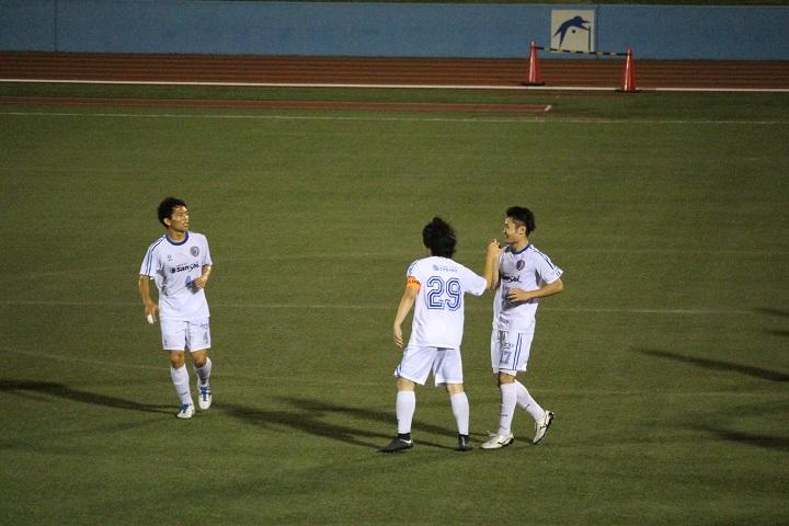 葛飾のサッカーチーム南葛SCの試合