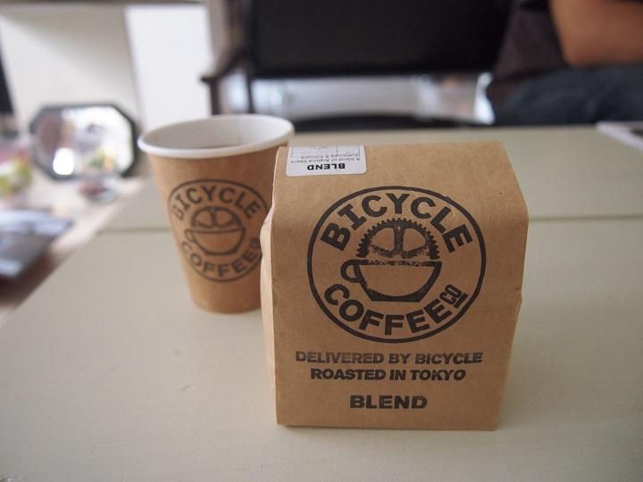 葛飾にある「BICYCLE COFFEE」