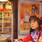 柴又の昭和レトロ喫茶セピアに  「キャンディ・キャンディ博物館」