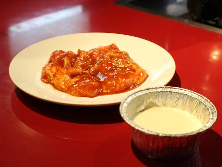 焼肉 錦城苑のチーズタッカルビ
