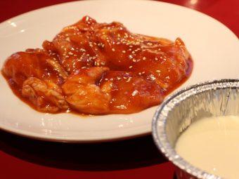 焼肉 錦城苑の「チーズタッカルビ」で心もトロントロン