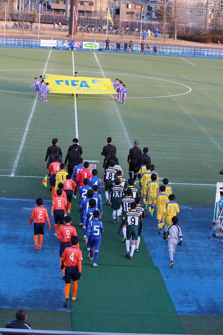 キャプテン翼CUPかつしか2018 ジュニアサッカー大会