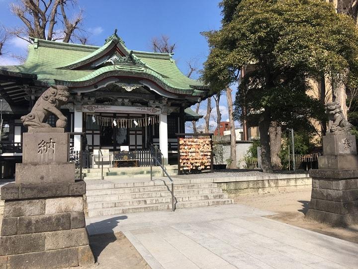 亀有香取神社の境内に移転したパティスリー ラ・ローズ・ジャポネ