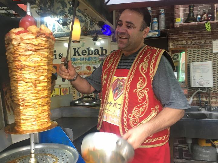 ドンドンもぐもぐレポート2018第42回【四つ木/Paris Kebab】