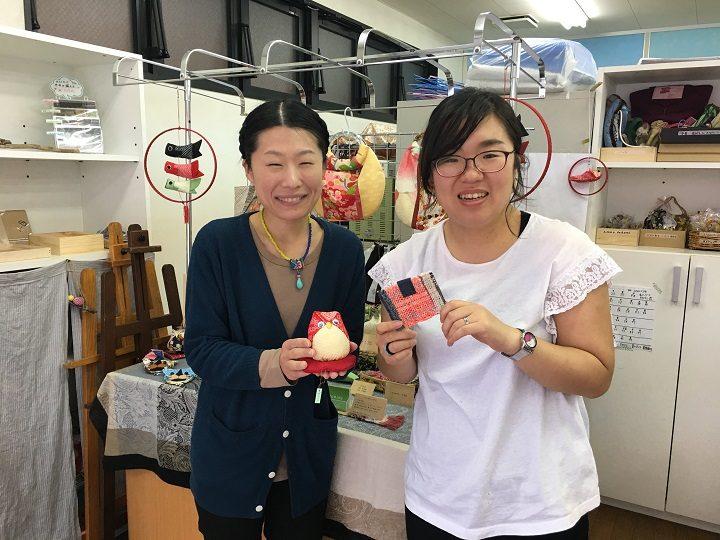 「第二悠遊舎えどがわ」の岩崎さんと森井さん