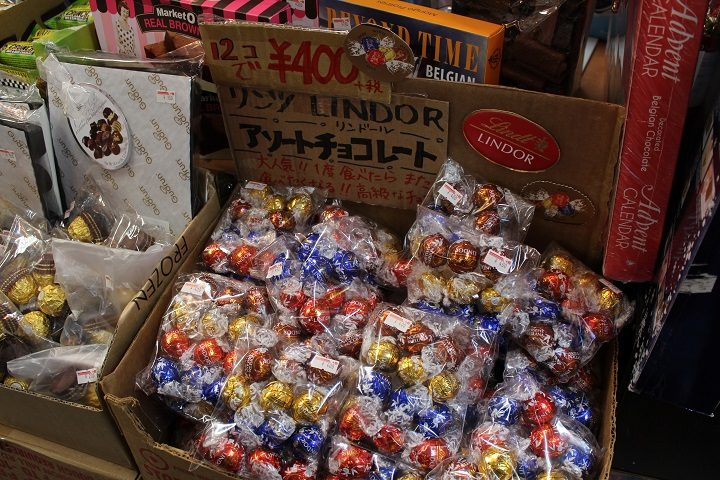 リンドールのチョコレート