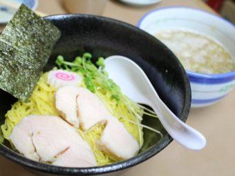 """【限定】""""比内塩つけ麺""""  合言葉は「ウメジソス~」"""