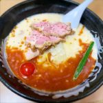 【限定】カルテットスープが爆誕!  サラっとイケル「海老とん麺」