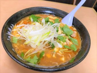 【限定】美味さは心の汗だ!  サンラータン麺(酸辣湯)