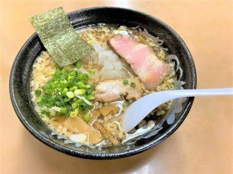 【限定】亀有三丁目系背油煮干醤油麺  亀有から新潟へ味旅行