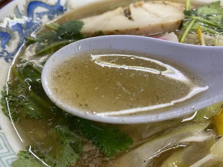 出汁のきいた亀有どさん子の一押し麺(限定麺)