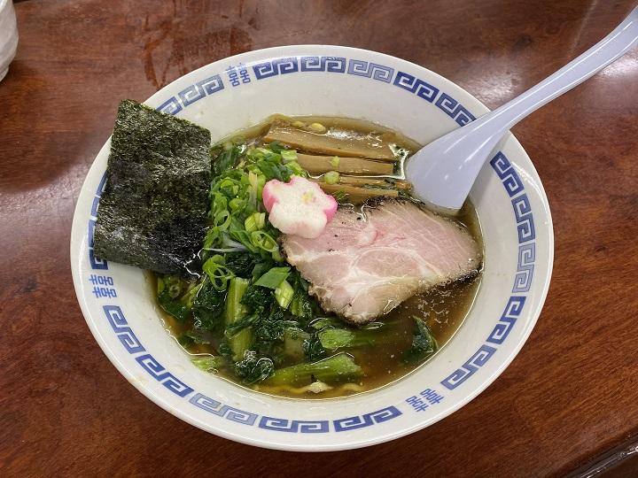 亀有どさん子の一押し麺(限定麺/醤油ラーメン)