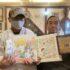 亀有北口で行われている被災地支援「ぬりえコンテスト」主催者